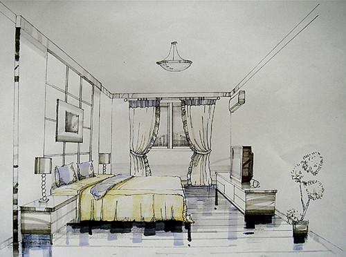 上海室内设计培训-手绘效果图